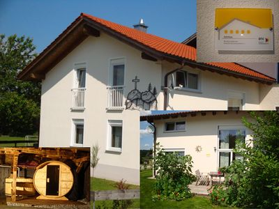 Photo for Newly built 5 * cottage set in the Bavarian Forest