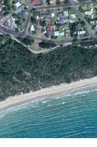 Location to North Broulee Beach