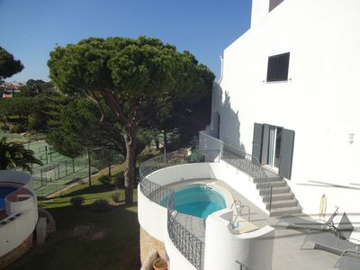 Photo for Great family holiday home on the door step of Tennis Valley , Vale do Lobo