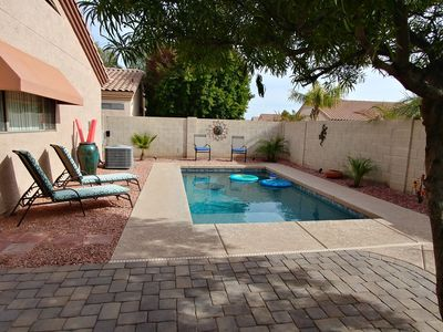 Photo for Heated Pool! 4 Bdrms! Beautiful home close to everything!