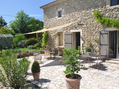 Photo for Holiday home between gorges of Ardeche valley and the ceze