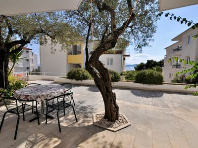 Photo for Homerez last minute deal - Nice studio with sea view and terrace