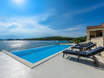 Photo for Beautiful Villa Proversa, in Dalmatia, with a Pool