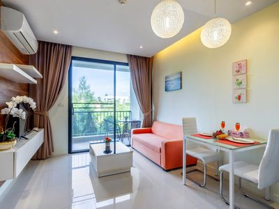 Photo for Cozy Lago apartment Naiharn beach