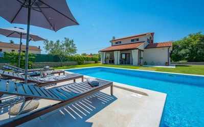 Photo for Fantastic villa with private pool and children's playground