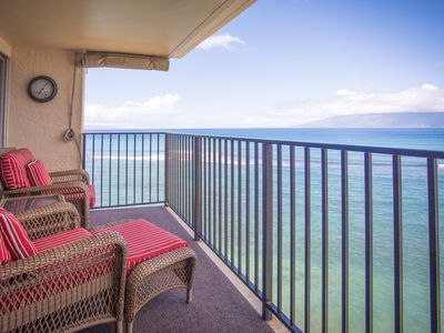 Photo for New Listing! Oceanfront Hololani Condo w/ 2 Lanais & Heated Pool