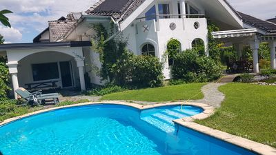 Photo for Exclusive sunny villa with private garden