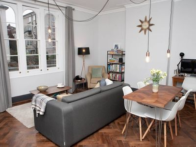 Photo for Spacious Victorian Flat in the Heart of Bristol