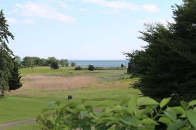 The view of the Sound & CT River mouth.