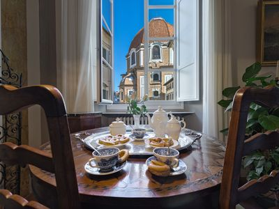 Photo for Amazing Noble Luxury House in the heart of Florence, Duomo, SMN, AC, elevator
