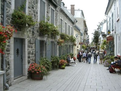 Photo for Quaint, charming little house in a phenomenal location in Old Quebec City!
