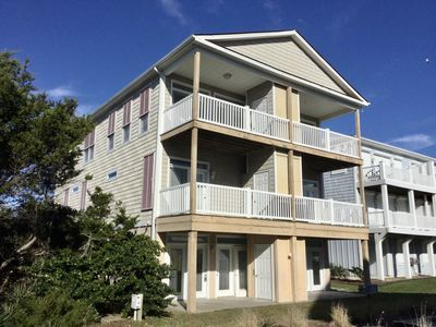 Photo for Great beach access!   Three bedroom duplex townhouse