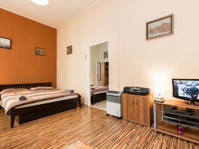 Photo for Letná apartment in Holešovice with WiFi & air conditioning.