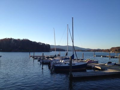 Photo for Breathtaking Views Of Smith Mountain Lake from this Mariners Landing Condo