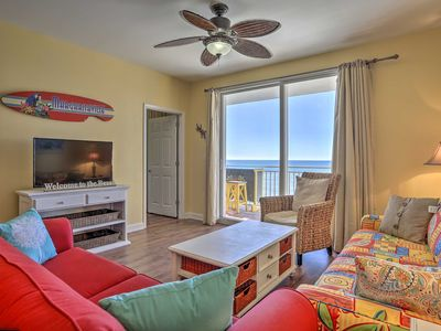 Photo for NEW! Oceanfront PCB Resort Condo w/Balcony & Views