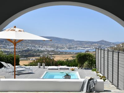 Photo for Private pool 2.5 x 4 m, relaxing holidays, family friendly, close to the beach