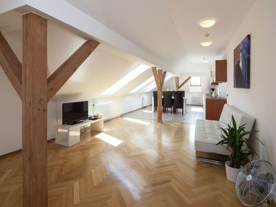 Photo for Vaclav Suite 52 apartment in Nove Mesto with WiFi & lift.