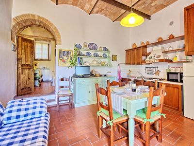 Photo for 1BR Apartment Vacation Rental in Montespertoli