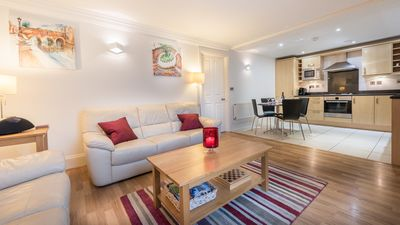 Photo for Luxury Ground Floor Apartment with Parking in Central Bath