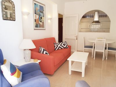Photo for Fuengirola, Central, Quality Sea View Apartment, Beach Front Block, FREE WiFi