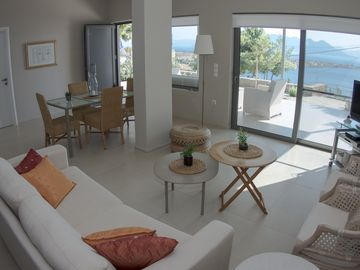 New 2 Bedroom Home With Beautiful Sea Views, Close To Beaches & Local Tavernas