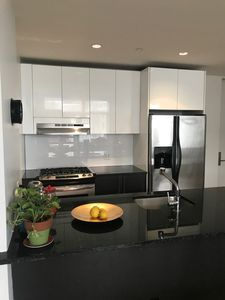 Photo for Bright, Modern 1-Bedroom 1-Bath in Luxury Building