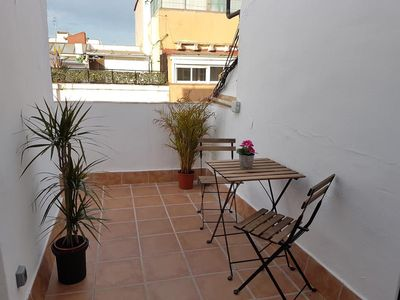 Photo for Sunny penthouse with terrace - Camp Nou - BCN Fira