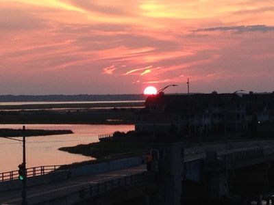 Photo for Stone Harbor Bay Front Condo 1300 Weekly