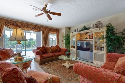Relax in the Sumptious Family Room