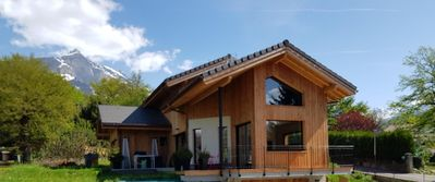 Photo for Contemporary chalet 200 m2 new for 8 people A PASSY MONT-BLANC