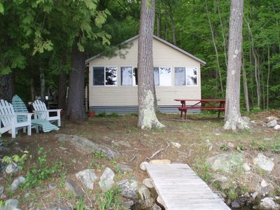 Photo for Quiet Classic Maine Camp Located 30 Feet From Waters Edge