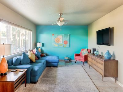 Photo for Stay in a Mid-Century Condo Full of Color