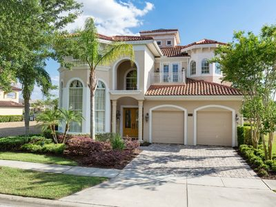 Photo for Real Reunion Home: Private Pool, Free Water Park, Balcony Golf View, Near Disney