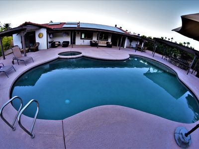 Photo for Private house on large lot w/amazing views and backyard pool and outdoor kitchen