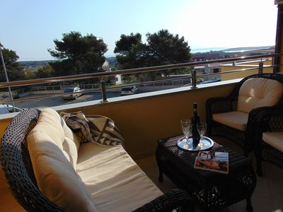 Photo for Apartment Savic Liznjan with sea view for 1-6 persons