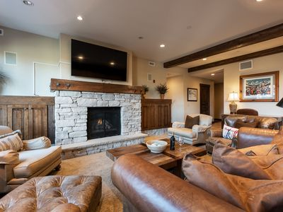 Photo for Inviting condo ideal for couples, steps from on-site chairlift -- concierge service, winter shuttle