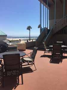 Photo for Just steps off the beach 1 bedroom, 1 bath condo