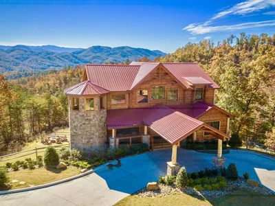 Photo for Summit Castle - New '18 ~3.5 Acres-Views~Theater-Fire Pit~Office~Bunks~Wifi~Yard