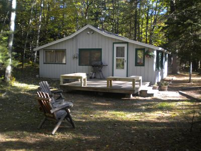 Photo for Cozy cabin with Crystal River frontage-Pet welcome