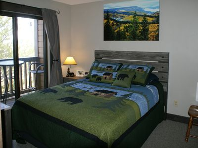 Photo for New Listing-Beautiful Condo on Ski Slope near Trails with Jacuzzi Tub