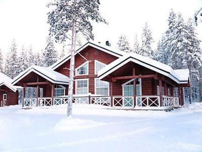Photo for Vacation home Aurinkovilla a in Kittilä - 6 persons, 3 bedrooms
