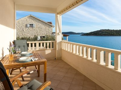 Photo for Amazing 1-bedroom SEASIDE apartment, 25 minutes from Split Airport!  Apt.No.2