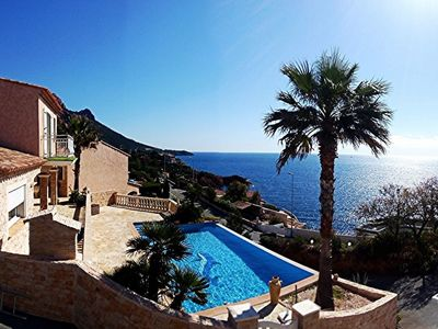 Photo for Other charming studio available sea view, pool, beach Saint-Raphael / AGAY