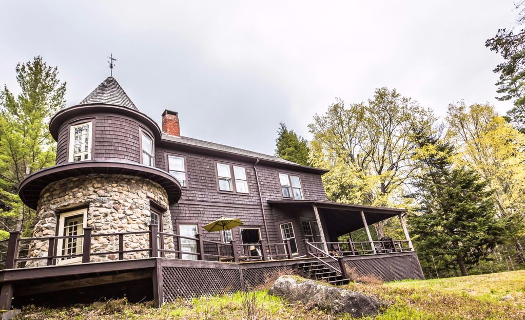 Woodland sanctuary giant mountain homeaway keene valley for Keene valley cabin rentals