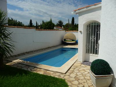 Photo for Magnificent Villa with private pool and garden Cap7P Free Wifi