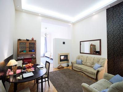 Photo for GREAT LOCATION Budapest center : Fireplace Holidays - Elegant Private Apartment