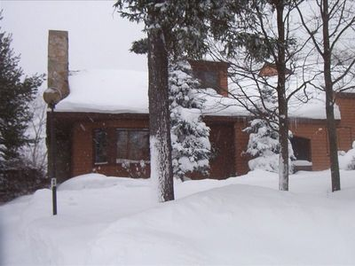 Photo for 3-Story Slopeside Condo with Beautiful Mountain Views