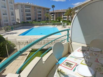 Photo for Apartment 486 m from the center of Fréjus with Lift, Parking, Internet, Washing machine (669399)