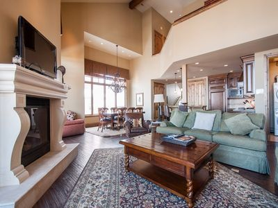 Photo for Ski in Ski Out at the Canyons 3000 sq. ft. 4br 4.5ba sleeps 12 End top unit