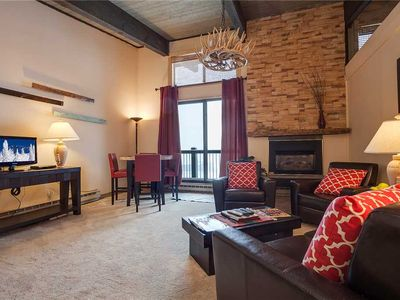 Photo for CA415 by Mountain Resorts: Top floor w/vaulted ceilings ~ Spectacular views!